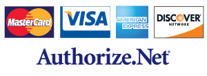 Payment Cards processed by Authorize